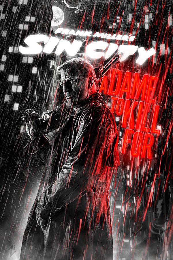 SIN CITY 2 | Movie posters by Smokin' Zorro, via Behance