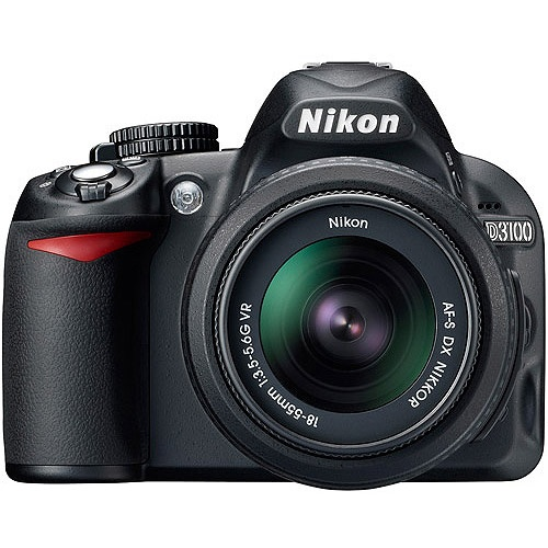 Nikon D3100 MD 14.2MP DSLR Camera Value Bundle w/ Bonus Camera Case, Instructional DVD, and 100 Bonus Prints Coupon $529.00 w/ FREE SHIPPING TO HOME at Walmart.com (was 700.00)