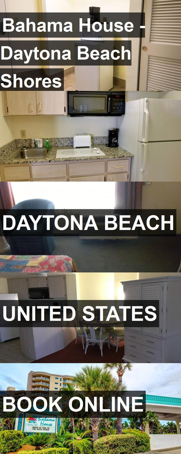 Hotel Bahama House - Daytona Beach Shores in Daytona Beach, United States. For more information, photos, reviews and best prices please follow the link. #UnitedStates #DaytonaBeach #travel #vacation #hotel