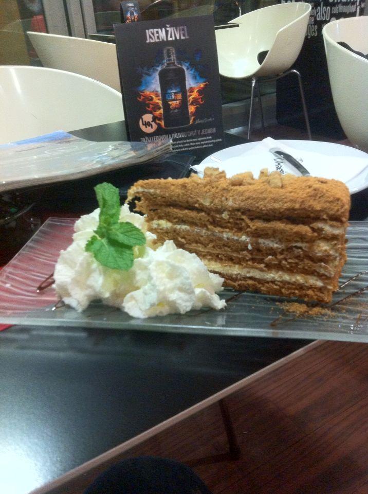 Honey Cake #dessert #honey #cake