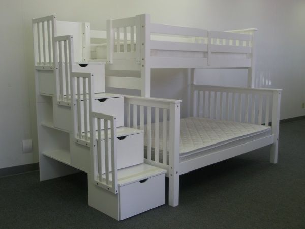 1000 ideas about bunk beds with stairs on pinterest storage bunk beds loft beds and bunk. Black Bedroom Furniture Sets. Home Design Ideas