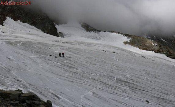 Topniejący lodowiec odsłonił buty i dłoń mężczyzny. Policja: To zaginiony 30 lat temu Niemiec