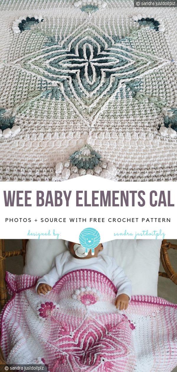 Wee Baby Elements CAL Free Crochet Pattern | carpetas | Pinterest ...
