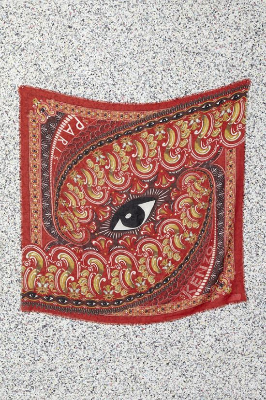 THE RED SCARVES - Kenzine, the Kenzo official blog