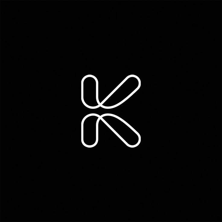 Logo design. Monogram and initial.