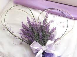 Výsledek obrázku pro dekorace levandule