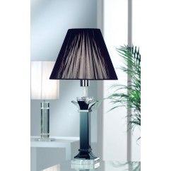 "Galway Crystal - Deco Medium lamp 22"" and Free Shade. €139.00"