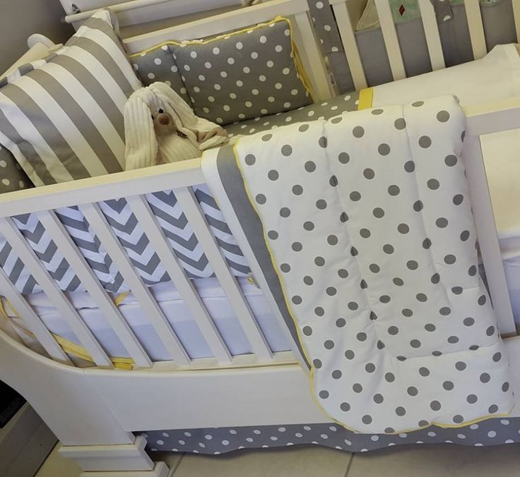 A lovely grey and white nursery theme