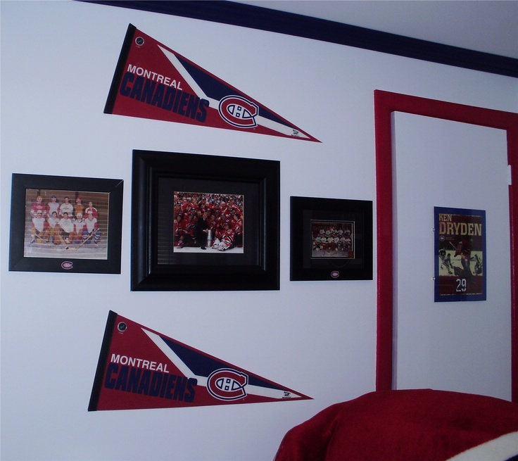 1000+ Images About Montreal Canadiens Room (Habs Theme) Go