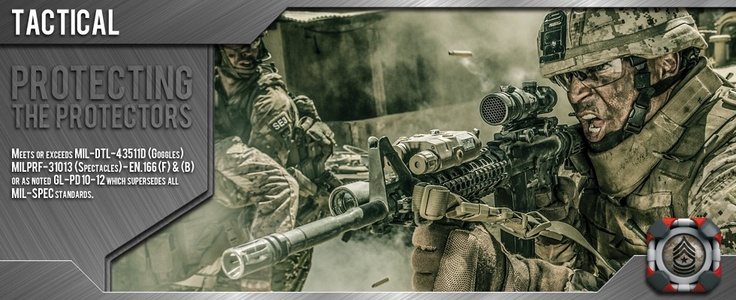 Gafas Wiley X. Protecting the Protectors #wileyx #airsoft