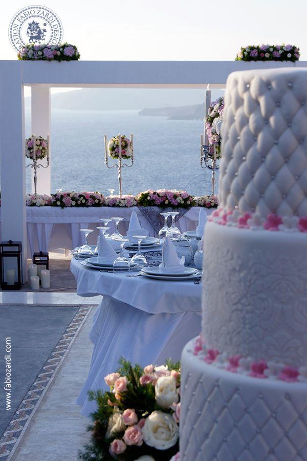 Luxury wedding at Cavo Ventus Villa