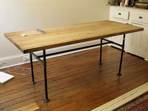 Chairs To Match Industrial Style Dining Table Good Questions