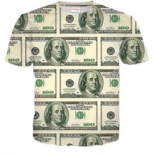 USD DOLARY Koszulka Tshirt Full Print