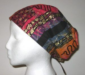 a sewing pattern directions for scrub hat chemo - SHL Craft Supply