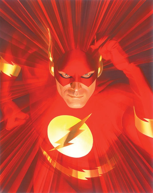 """Mythology: Flash""  By Alex Ross - Limited Edition Giclée on Canvas"