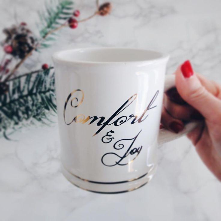 """117 Likes, 19 Comments - Marion✨ (@pretty__harmony) on Instagram: """"Hello décembre ☕️ En amour avec ma trouvaille du #Walmart Bon vendredi à tous! XOXO✨ . . . . #tasse…"""""""
