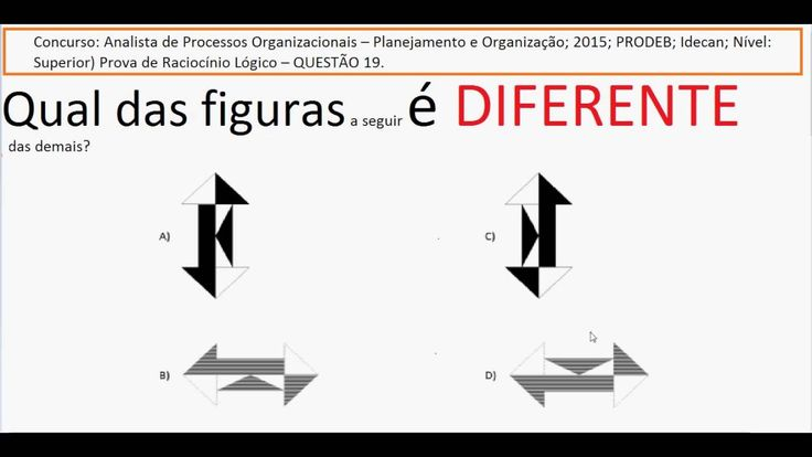 Curso Raciocínio Lógico Teste Psicotécnico Detran e concursos Raciocínio... https://youtu.be/_D5dBos-blY