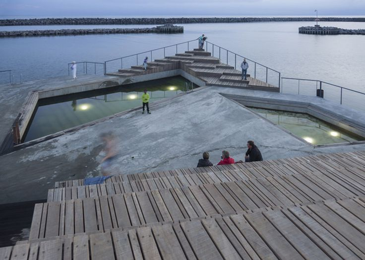 Floating structure by White Arkitekter