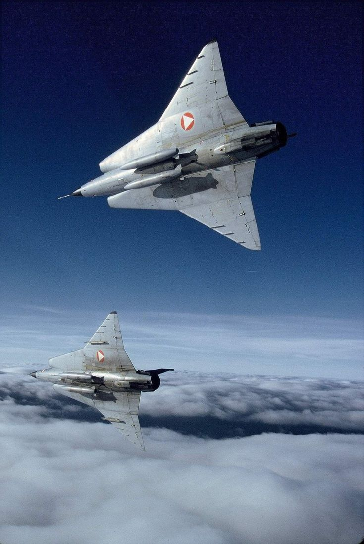 supersonic-youth:  Saab 35 Draken