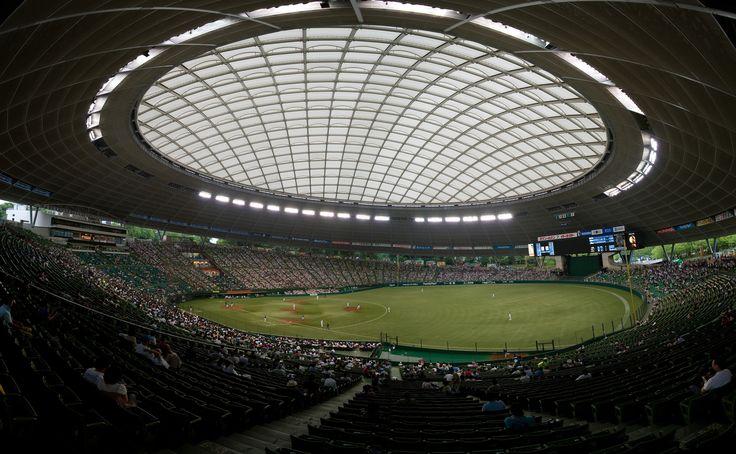 Seibu Dome, the home field of the Saitama Seibu Lions