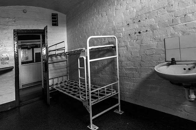 Prison-cell block H. Just visiting today. Not a resident... . . . . . . . . . . #brutalist#brutalism#architecture#design#mobilephotography#art#blackandwhite#bnw#photooftheday#fineart#fineart_photobw#insta_bw#instablackandwhite#instagood#monoart#monochromatic#noir#monochrome#monotone#photo#photography#interiordesign#design#500px#london#phone#prison#leeds