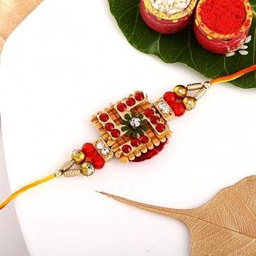 Swastik Design Rakhi rakhi online shopping
