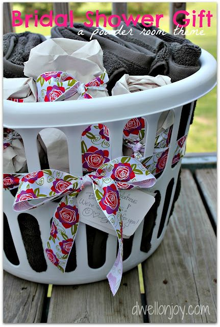 Bridal shower gift. When buying towels of the registry - wrap them in ...