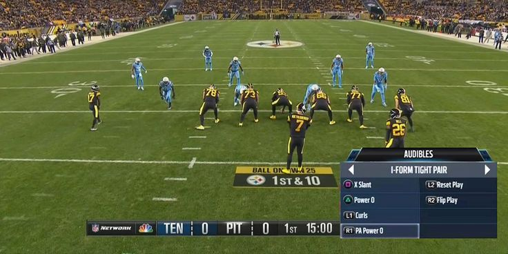 Imagine Chris Hanson playcalling this on NFL Redzone though? I would yack it.