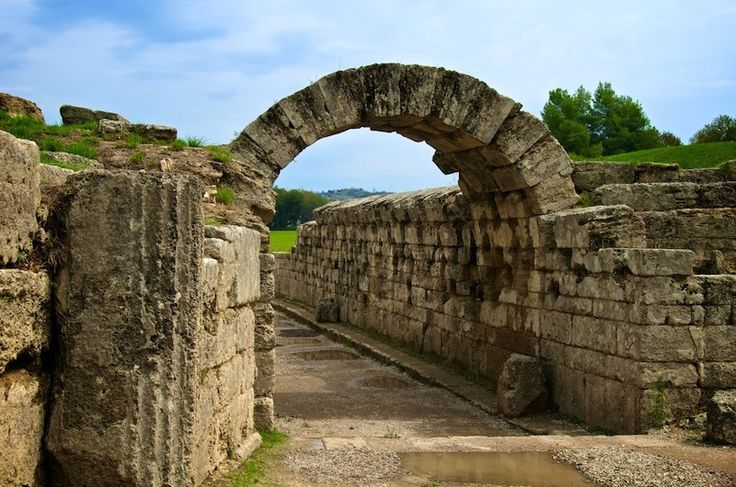 TRAVEL'IN GREECE | Entrance to #Olympia stadium, #travelingreece