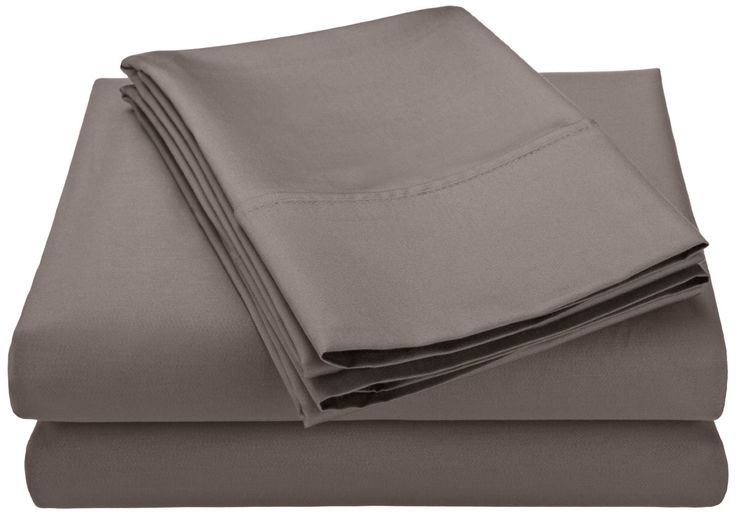 5-Piece 600 Thread Count Cotton Sateen Sheet Set