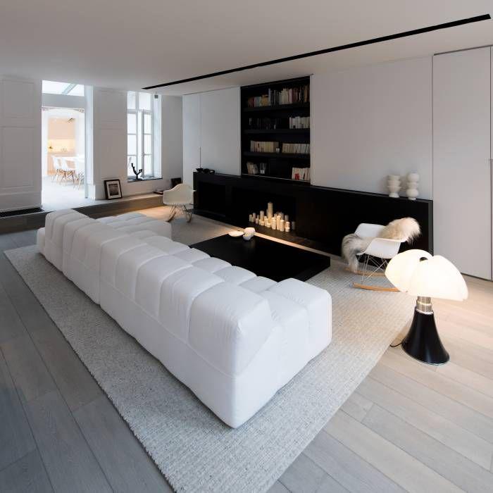 Photos de salon de style de style moderne : habitation privée ...