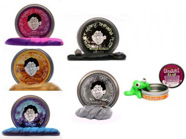 Crazy Aaron's Thinking Putty: Gift Pack: 3 Regular, 2 Specialty, 1 Critter
