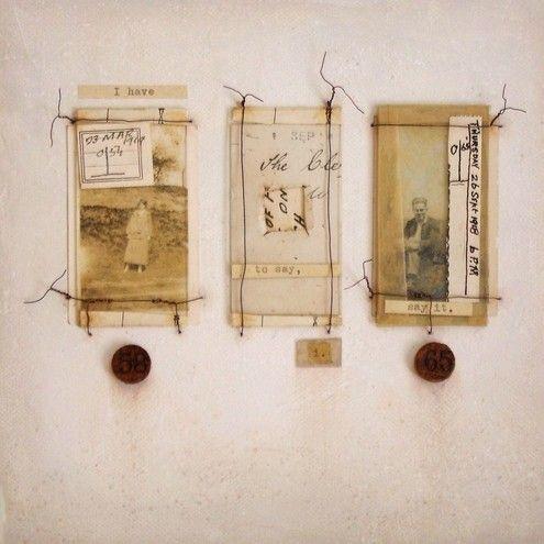 D. Elsworth...mixed media wall hangings