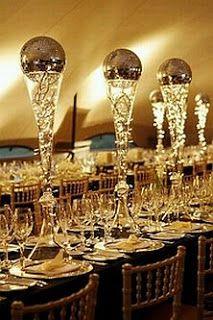 centros de mesa para quinceanera 2013 | colorido centro de mesa con copas de martini de distinta altura en la ...