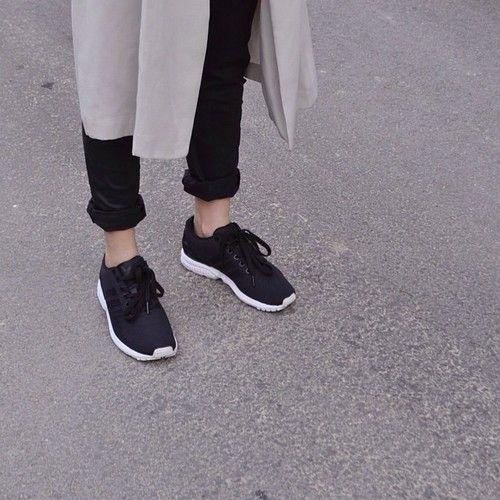 adidas zx flusso nero e rosa d'oro sneakerdiscount donne vestiti