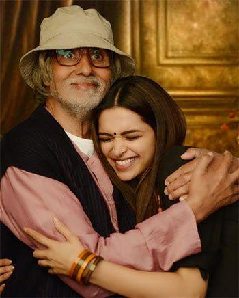 Amitabh Bachchan and Deepika Padukone in Piku - Offbeat movie, with incredible songs sung by Anupam Roy