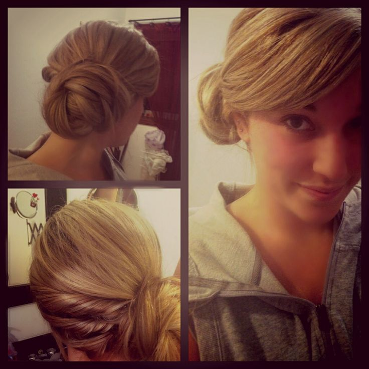 Hair - When you want your bun to be different...!