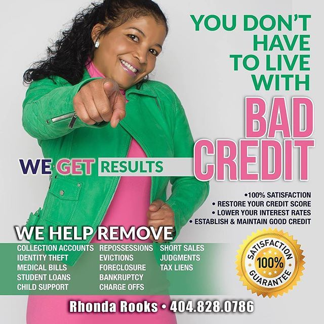 NEED BETTER CREDIT IN 6 MONTHS OR LESS TO START 2018 OFF RIGHT? STUDENT LOANSDELETED EVICTIONSDELETED LATE PAYMENTSDELETED FORECLOSURESDELETED BANKRUPTCIESDELETED MEDICAL BILLSDELETED REPOSSESSIONSDELETED TAX LIENSDELETED If you need these types of items PERMANENTLY DELETED from your credit then click the link in my bio and click the orange login tab. For USERNAME enter nine 9's for PASSWORD enter four 9's. Living your life costs more with bad credit.  #rhondaknowscredit #issamovement…