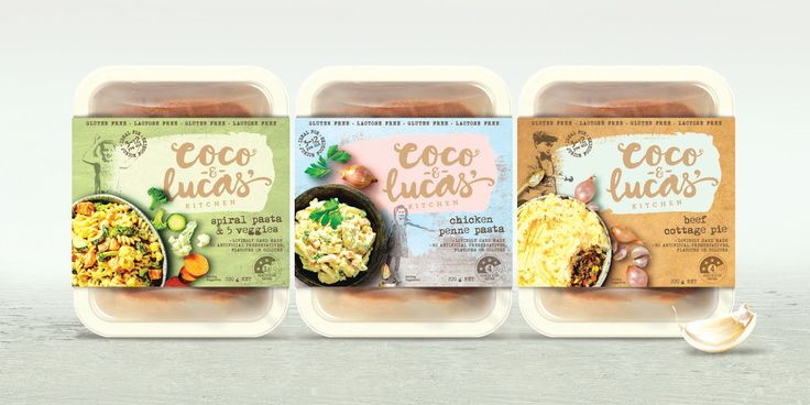 Coco and Lucas' Kitchen on Packaging of the World - Creative Package Design Gallery