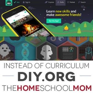 Love this resource for learning skills and earning (virtual or physical) patches based on interests! See how other families are using it: http://www.thehomeschoolmom.com/instead-homeschool-curriculum-diy-org/