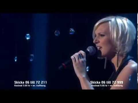 """Sweden's entry for 2014, """"Undo"""" - beautiful song, but I hope she'll change her outfit"""