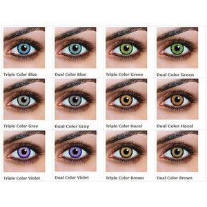 Guide to Non-Prescription Colored Contacts