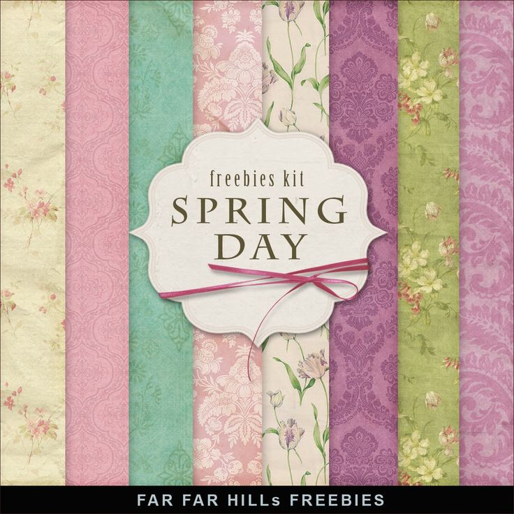 New Freebies Papers Kit - Spring Day