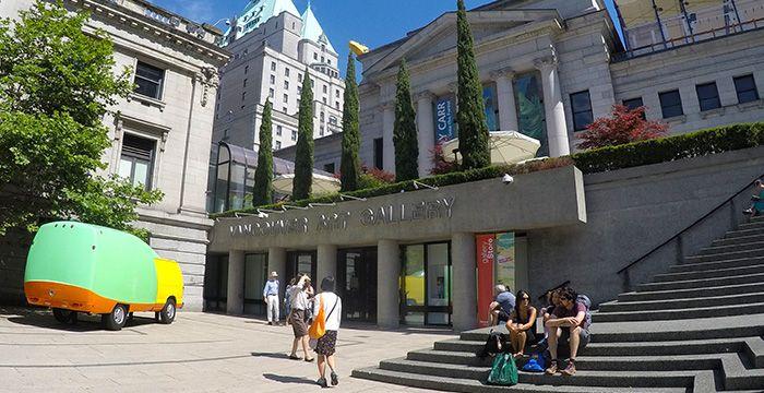 Art Gallery, concierto y despedida de Vancouver
