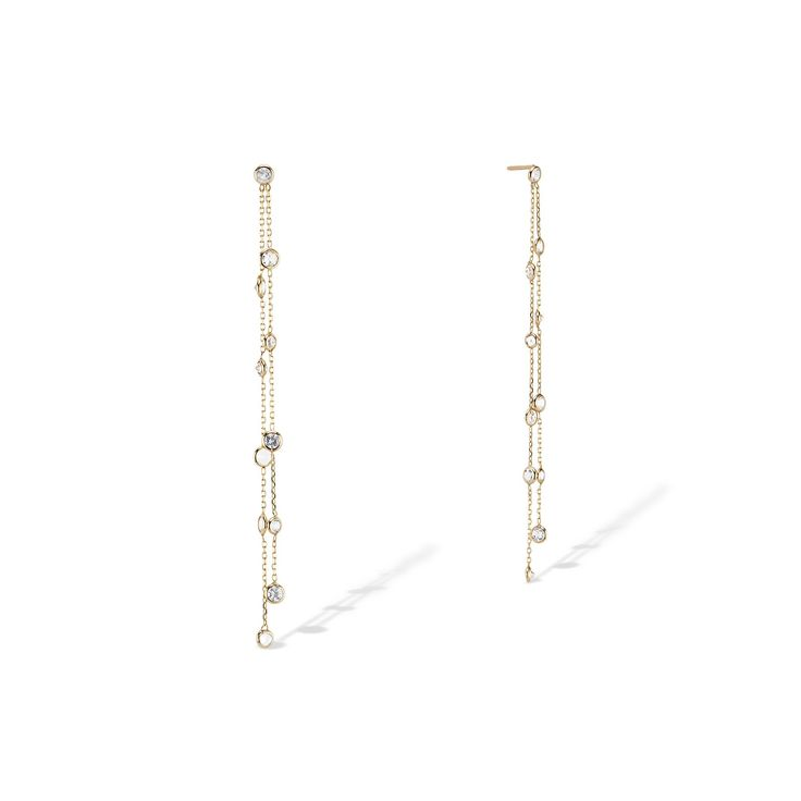 Emily's Diamond Earrings