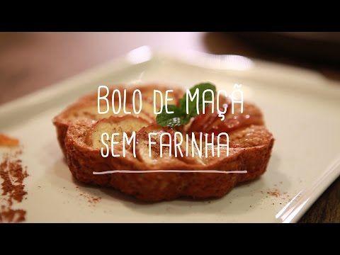 Bolo de maçã sem farinha | Receitas Saudáveis - Lucilia Diniz - YouTube