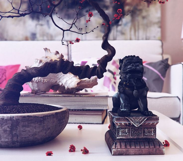 Modern Asian Inspired Decor and Accessories : Bonsai Tree Decoration Modern Room