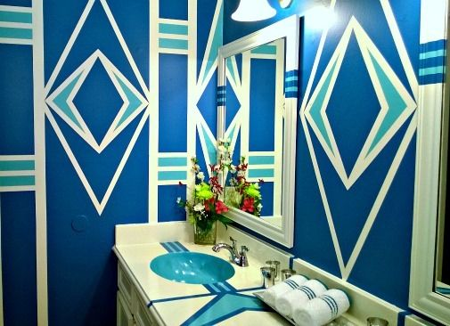 2014 runner up beyond bold bathroom makeover submitted by jessica s http - Bathroom Makeover Contest