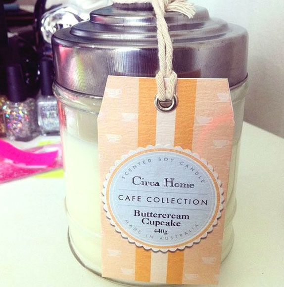 Sniff tested: Circa Home Buttercream Cupcake Candle