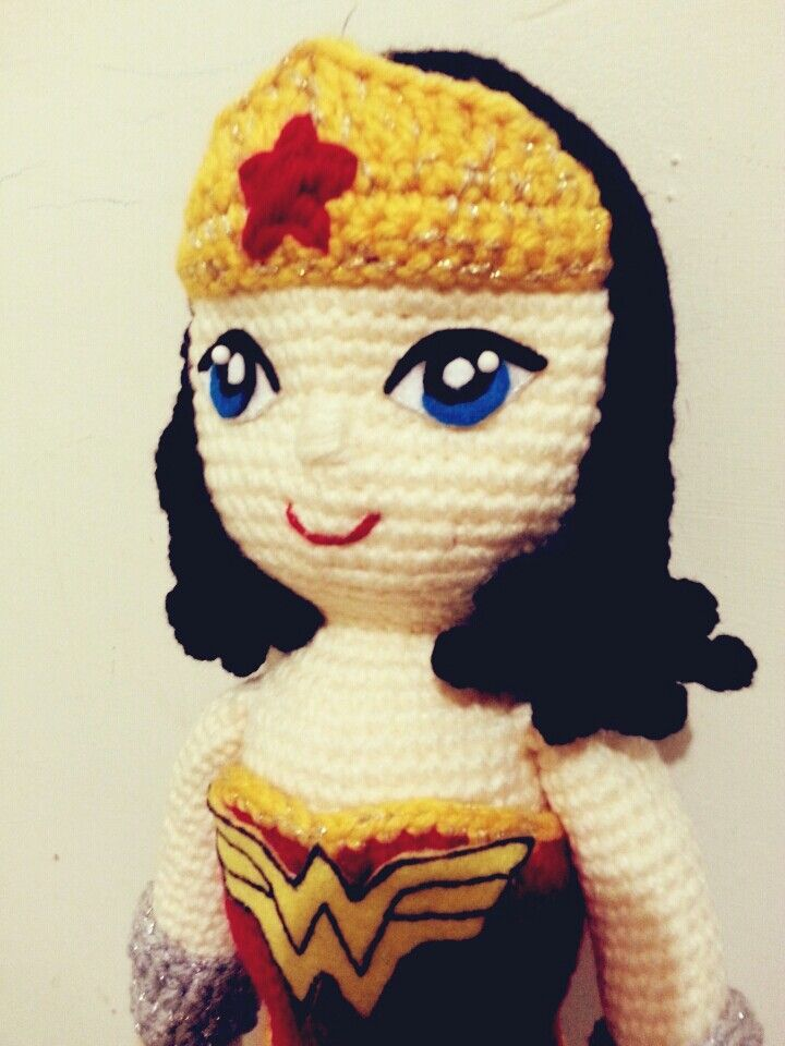 Amigurumi Wonder Woman : wonder woman amigurumi #wonderwoman #mujermaravilla # ...